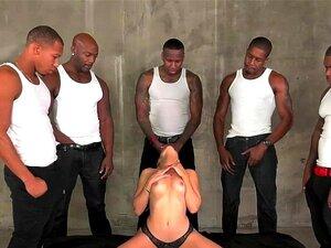 Arcanjo Ashley Dispara Chupando 5 Grandes Galos Negros Porn