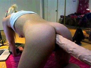 Brinquedo Gigante Loira De Smokin Hott Porn
