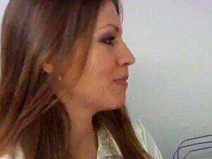 Eufrat Gyno Exam, Marrom Escuro, Com Bom Leite Sacos Investigação De Ginecomastia. Seleção De Mama Até Antes Da Inserção Do Espéculo. Porn