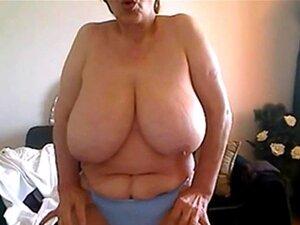 50 Anos De Idade E Mostrando Meus Grandes Naturais Na Webcam Porn