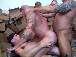 Exótico Vídeo Gay Caseiro Com Bareback, Cenas De Gang Bang, Porn