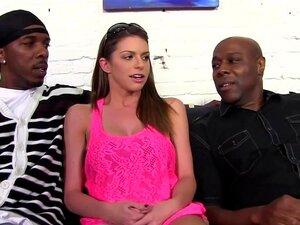 Primeiro Gangbang Interracial Do Brooklyn Chase Porn