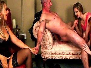 A Mulher Do CFNM Excitada Enquanto O Marido é Brochista Porn