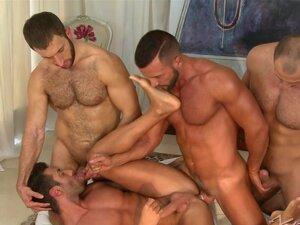 Um Grupo De Gays Malandros Finalmente Podem Furar Os Rabos Um Do Outro. Porn