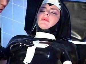 Látex Freira Fisted Bastante Duro, Porn