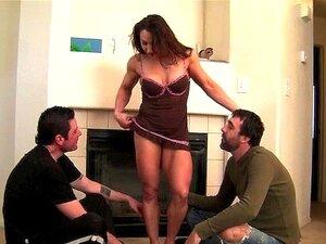 Trio De Adoração Do Músculo Porn