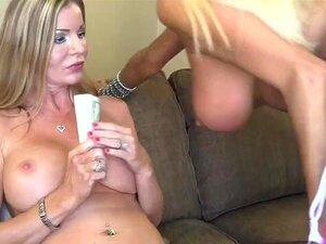 Nikita Von James Dá Amber Michaels Um Hot Lap Dance Porn