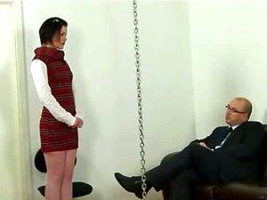Espancada Pelo Chefe Dela. Porn