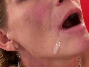 Peituda Loira Milf Madura Chupa E Fode Uma Difícil Porn