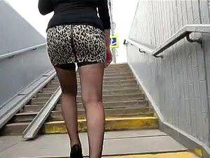 Upskirt De Meias Arrastão, Porn