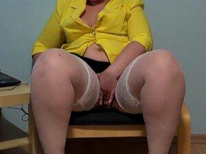 Irina Gorda E Peluda Buceta Dedilhado Dela! Porn