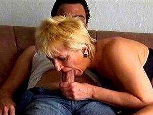 Mãe Velha Louca Fica Fodida Rígido E Gozada Nos Peitos Porn