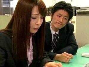 Fabulosa Pega Japonesa Leo Saionji, Maomi Nagasawa No Crazy Office JAV Clip Porn