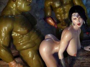 Dois Gigantes Fodem Uma Rapariga Bonita Porn