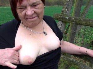 Velha Avó Ordinária Porn