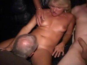 Porra De Grupo No Cinema Público Real Porn