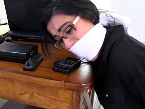 Perigoso Trabalho-A Menina Poderia Se Amarrada E Amordaçada! Porn