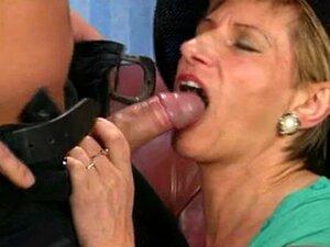 Mais Velha Senhora Alemã A Seu Rabo Fodido Rígido Porn
