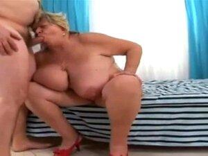 BBW Pênis Velho Chupando De Vovó Porn