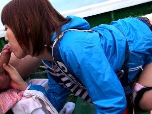 A Japonesa Nonoka Kaede Foi Fodida No Barco Sem Censura. Porn