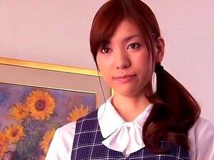 A Melhor Modelo Japonesa, Yuria Ashina, Com O Clipe Mais Quente Da Mulher A Solo, Masturbação. Porn