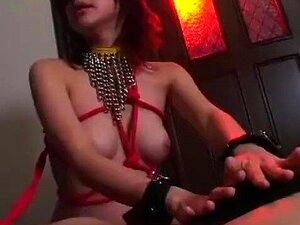 Japonesa Submissa Sexo Escravo Amarrado Em Uma Corda E Fodido Por Rincões Porn