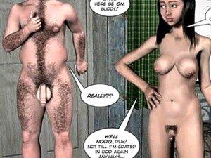 3D Em Quadrinhos: O Acompanhante. Episódio 2 Porn