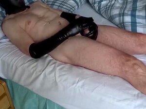 Gimp Wank. A Divertir-se Vestido De Gimp! Porn