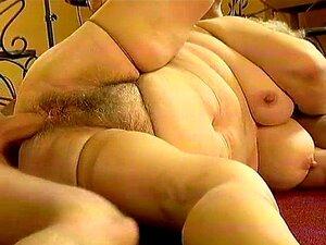 Vovó Gorda Obtém Sua Bunda Peluda Fodida Porn