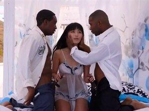 DOIS E MENINA ASIAN BLACK DICK (DP) Porn