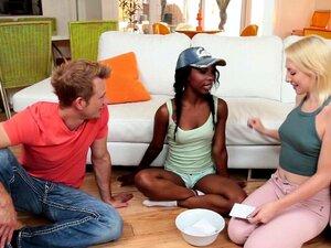 Ebony Adolescente Assfucked Após Jogos Sexuais Porn