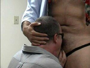 Funcionários Gays Chupando Pau Porn