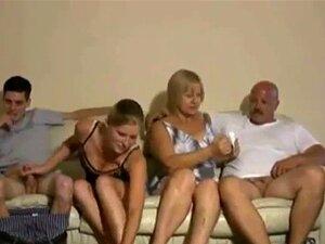 Festa Do Swingers. Troca De Parceiros Swinger Por Uma Grande Punheta Porn
