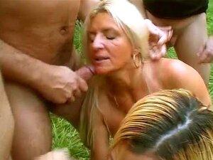 Festa Selvagem Groupsex Ao Ar Livre Porn