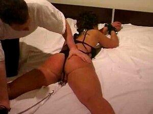 Sexy Morena Escravo Amarrado Em Um Sexy Elroom Bdsm Bondage Escravo Femdom Dominar O Porn