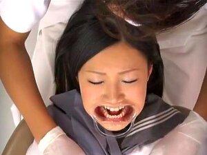 Curioso Que Modelo Japonesa AV Fica Fodido Em Consultório Odontológico, Luscious Japonesa AV Modelo Chega O Dentista S Para Verificar Os Dentes Dela. Ela Abre A Boca E Obtém Os Dentes Examinados, E Então O Dentista Com Tesão Começa A Dedo Seu Bichano Sucu Porn