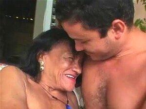 Avó Da Brazilina Feia, Desiste Da Rata Seca E Do Rabo Porn