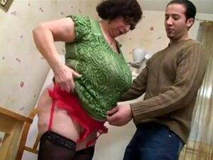 Avó Francesa Ginette Anal Fodido Porn