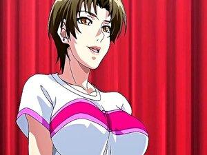 Menina Indefesa Hentai Com Grandes Mamas Redondas Obtém Perfurada áspero Porn