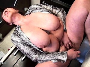Giant Breasted Mature Milf Playing Mora From 1fuckdatecom Porn