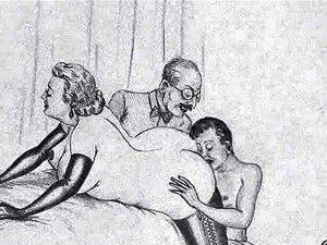 Mulher Madura Marido E Amante! Animação! Porn