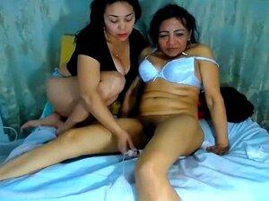 Um Vídeo Caseiro Fabuloso Com Cenas Lésbicas Maduras., Porn