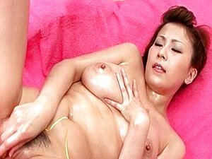 Menina Asiática Solo Tem Xoxota Oleosa Estimulada Porn