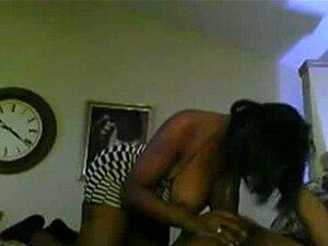 Mulher Negra Chupa E Cavalga Pau Hubbys Porn