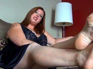 Qk-BBW Foot Domination Porn