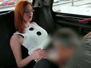 Amador Ruiva Com Grandes Mamas Aliciadas Para Sexo Por Seu Motorista De Táxi Porn