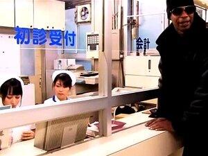 Três ébano Caralho Japonês Médico Porn