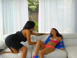 Busty Milf E Teen Slut Intense Threesome Session On S Porn