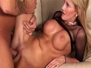 Meia Arrastão Preta Jerilyn Paige Porn