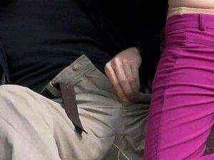 Sexo Amador 3some Na Praia Pública Porn